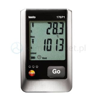 Rejestrator temperatury, ciśnienia i wilgoci Testo 176 P1