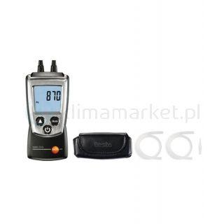 Elektroniczny manometr różnicowy Testo 510
