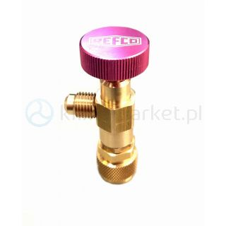 Zawór kątowy serwisowy A-38410 Refco 5/16SAE R410