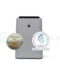 Oczyszczacz powietrza Sharp UA-HD60E-L + kuchenka mikrofalowa Sharp YC-MG01E-C GRATIS!